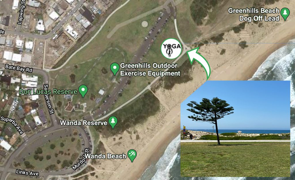 This image has an empty alt attribute; its file name is GreenhillsBeachYogaMAP-1024x624.jpg